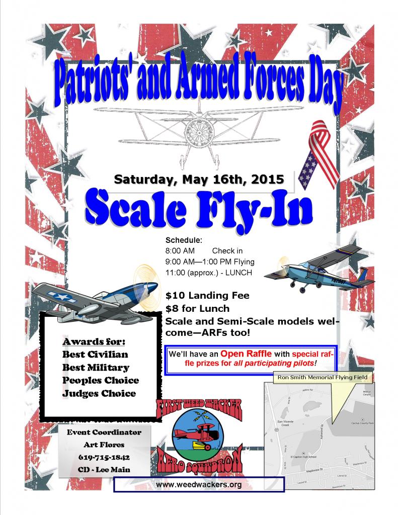 Flyer Patriots' Day 2015
